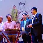 Sunil Gavaskar and Tanmoy Banerjee