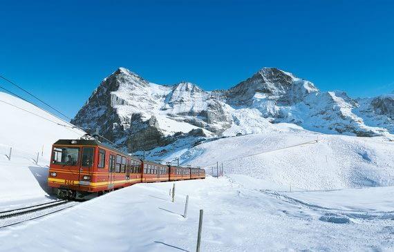 Day 6 : Jungfraujoch + Train Trip + Bernese Oberland