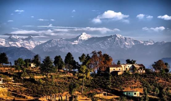 Day-5 Kausani - Chaukori via Bageshwar and Berinag (7000+ ft. asl, 110 kms - 4.5 hrs)