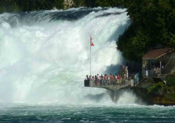 Day 3 - Paris – Rhine Falls- Zurich
